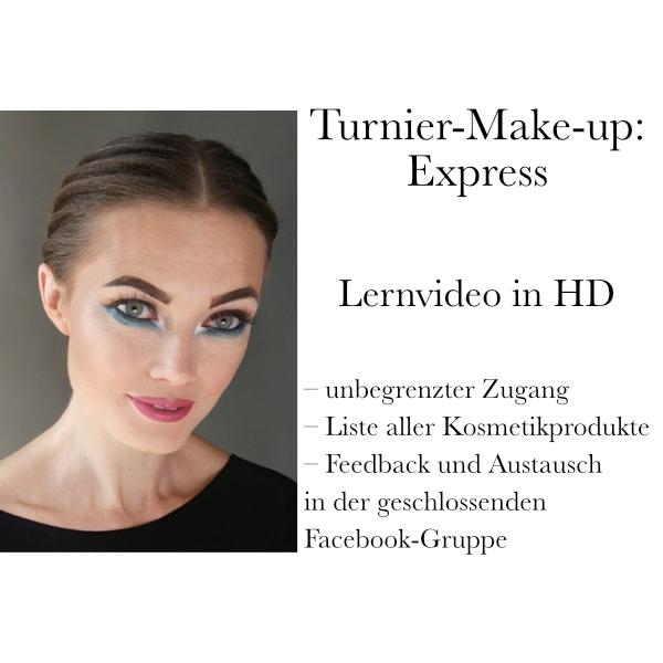 Turnier-Make-up: Express