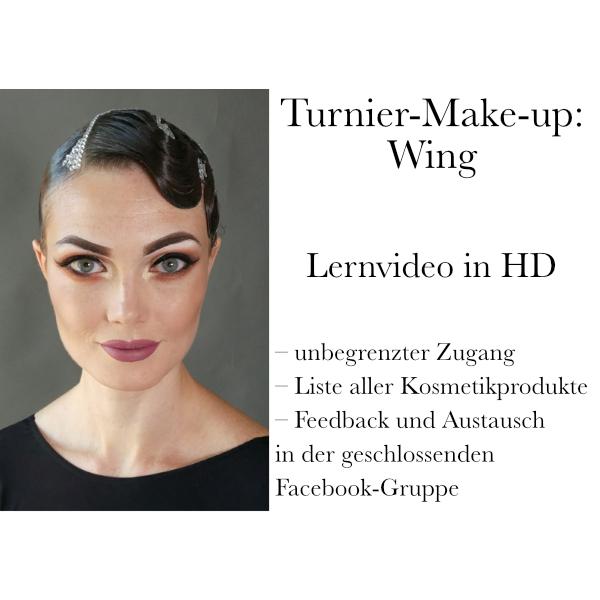 Turnier-Make-up: Wing