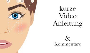 Augenbrauen im Tanz Make-up kostenlose Videoanleitung