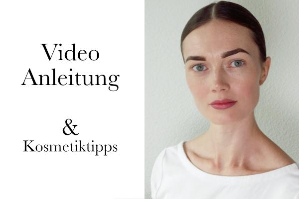 Make-up für den Alltag Video Anleitung
