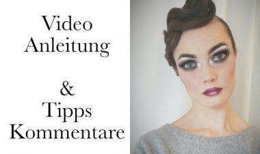 Tanzfrisur für ein Turnier – Anleitung, Video, Tipps