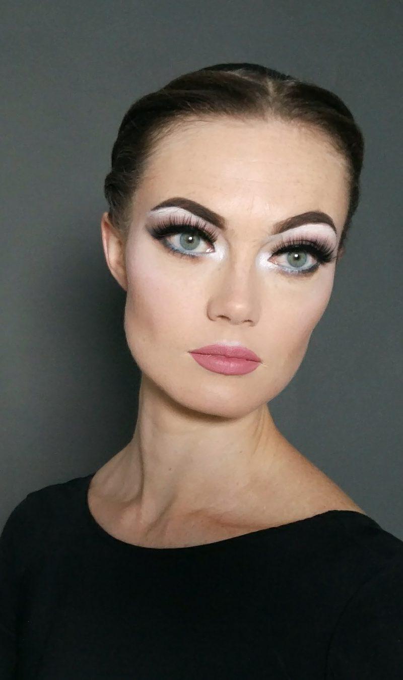 Turnier-Make-up: Minimalismus